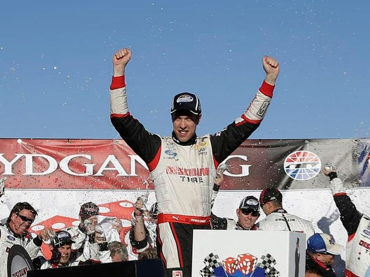 NASCAR Nationwide Las Vegas Auto Racing
