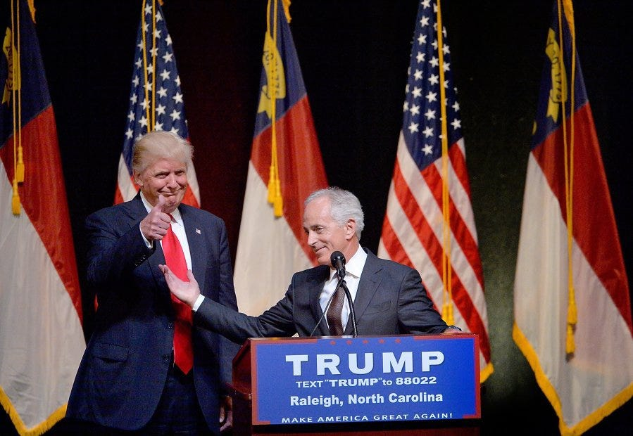 Watch Trump and Corker could benefit video