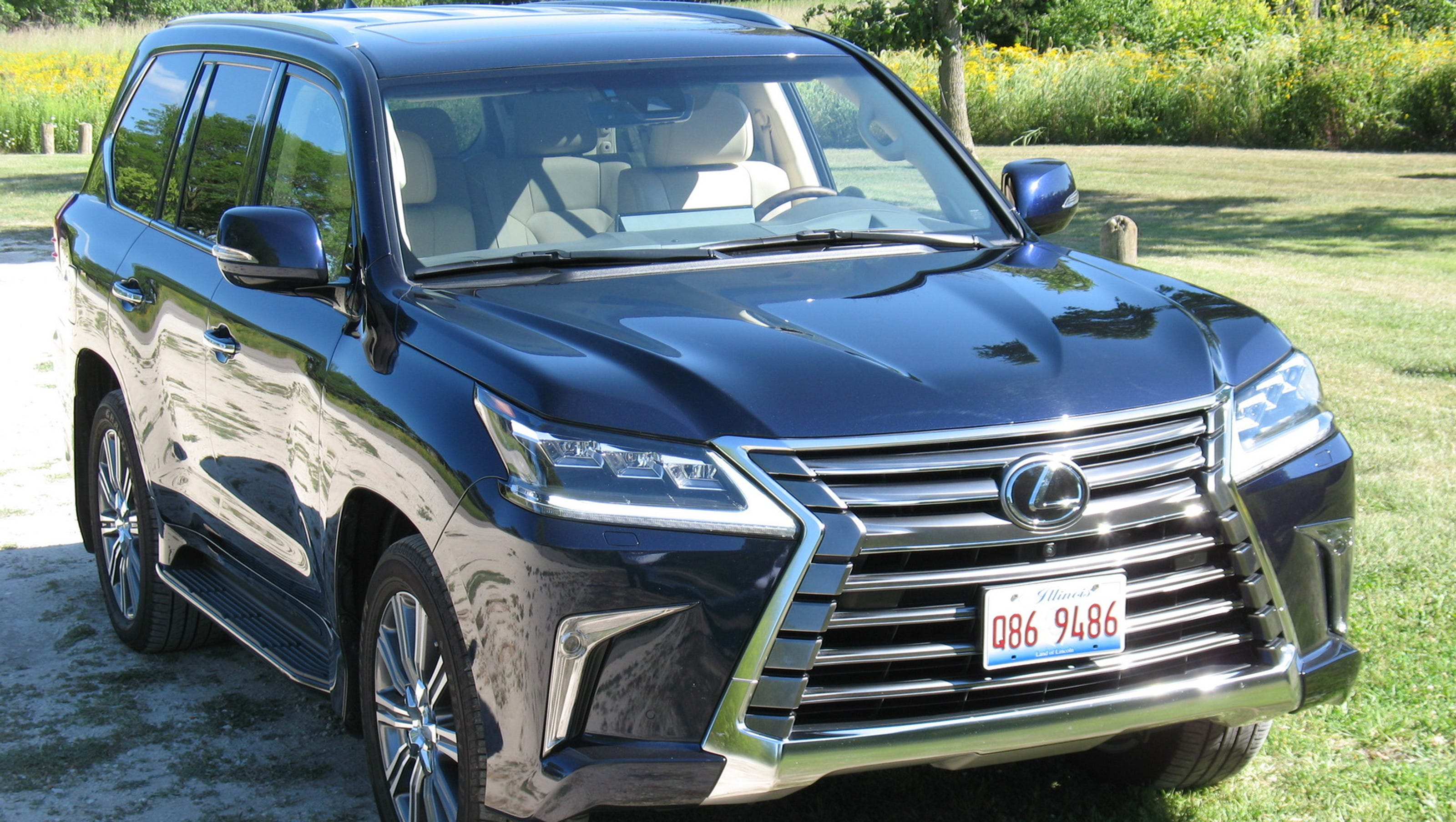 Auto Review 2017 Lexus Lx 570 Suv Has Sweeping Upgrades