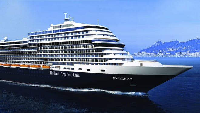 The new Holland America Koningsdam is coming in 2016.