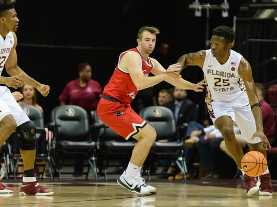 Florida State redshirt freshman Mfiondu Kabengele accumulated 11 points and grabbed a team-high nine rebounds against Central Missouri.