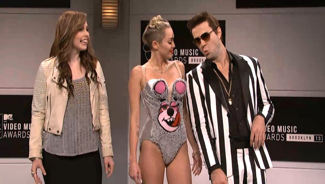 Miley Cyrus on 'SNL': Twerktastic, or not?