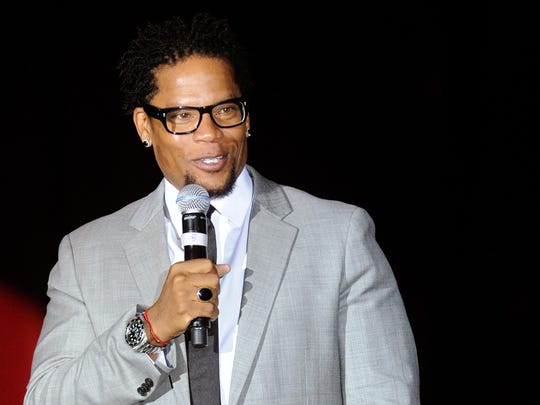 """Actor/comedian D.L. Hughley appears in the 90-minute """"Def Comedy Jam 25"""" on Netflix."""