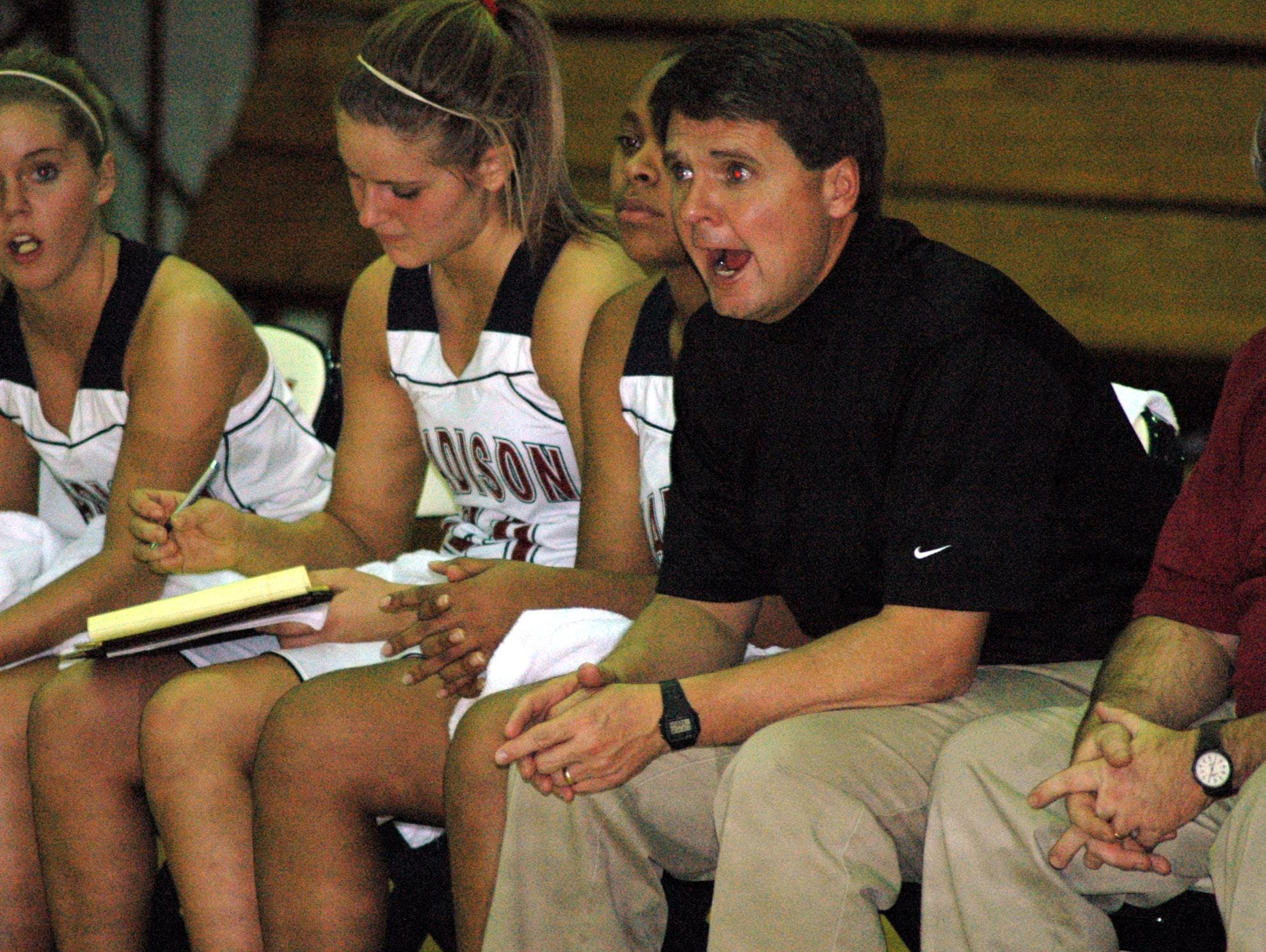 Steve Patterson resigned as the girls' basketball coach at Madison this week.