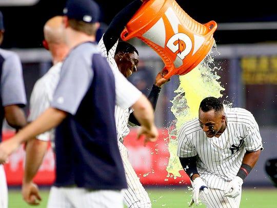 May 4, 2018; Bronx, NY, USA; New York Yankees third
