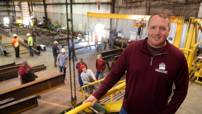 Bob Reiman is vice president of operations at Anderson Steel, which is adding 50 new jobs over the next five years.