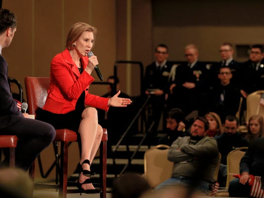 Carly Fiorina, Pete Hegseth