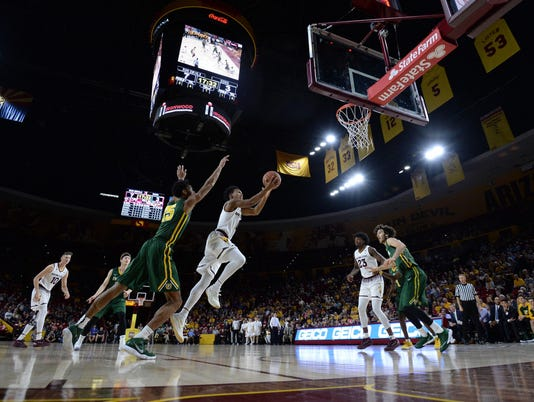NCAA Basketball: San Francisco at Arizona State