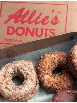 Doughnuts from Allie's.