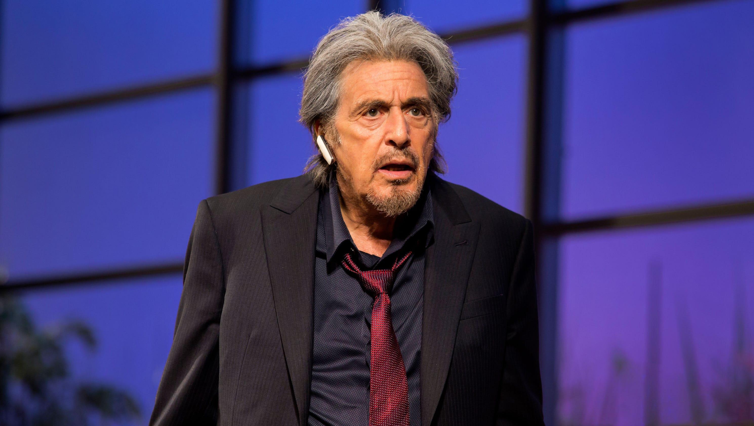 Al Pacino grabs attention in Mamet's 'China Doll' Al Pacino