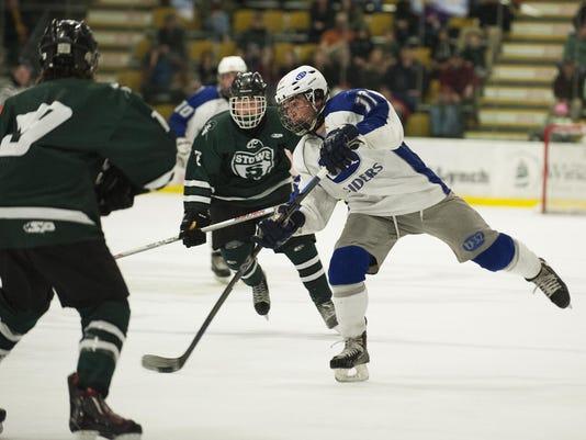 Boys Hockey Championship DII - Stowe vs. U-32 03/10/16