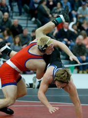 Fairport's Chris Barker defeated Brockport's Carson