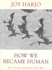 """Joy Harjo's """"How We Became Human"""" is the featured book"""