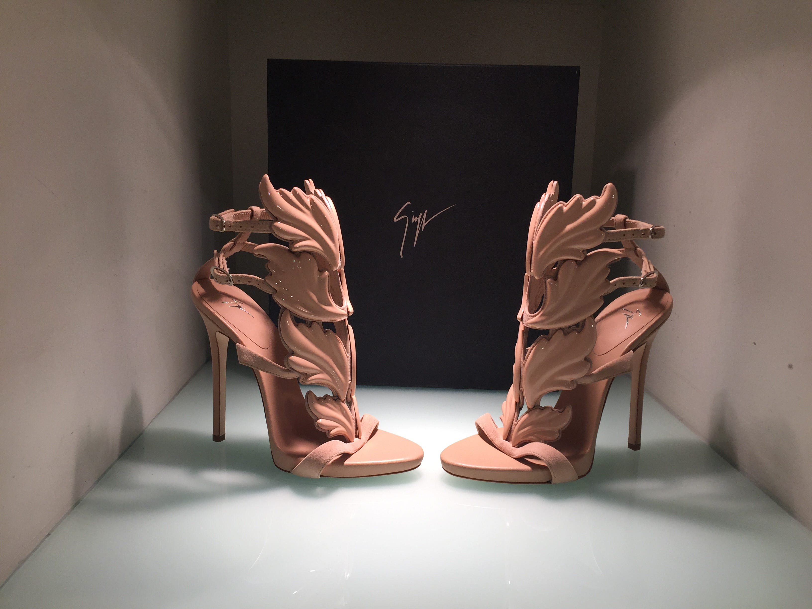hot pink designer sandals