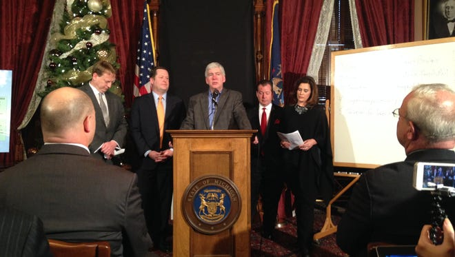 Michigan voters will be asked in May to approve increasing the sales tax from 6% to 7% to raise more than $1 billion a year to fix Michigan's crumbling roads and bridges.