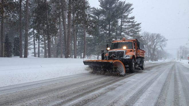 Snow band expected to move into Manitowoc County