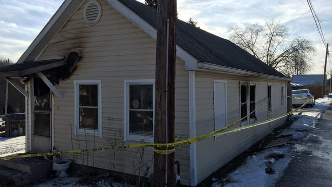 A Philo woman was killed Monday night in a Third Street fire.