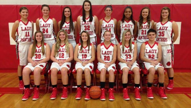 The Franklin girls basketball team.