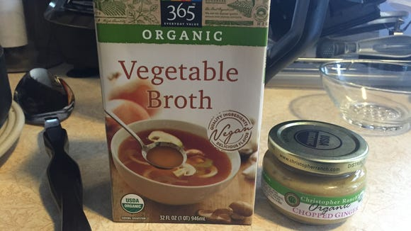 Besides the organic broccoli, cauliflower, cheddar cheese, these items were also easily available in an organic option.