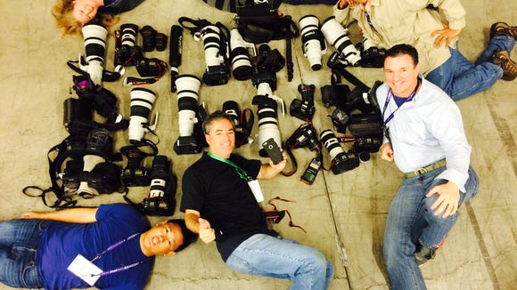 Republic photographers take to the floor with their