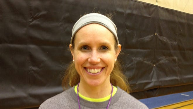 Central coach Lisa Blalock