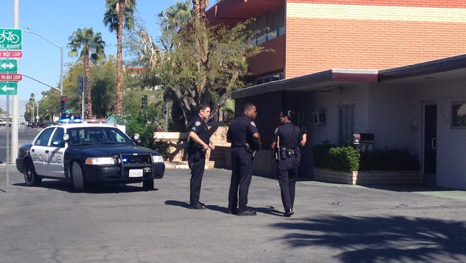 Palm Springs police received a report of a stabbing on North Indian Canyon Drive Sunday.