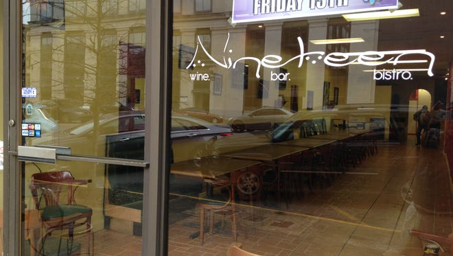 Nineteen Wine Bar and Bistro started daytime service Monday, the first of many changes under a new owner.