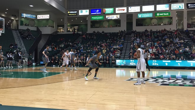 Binghamton U. men's basketball hosted the University of Vermont in the Events Center on Wednesday night.