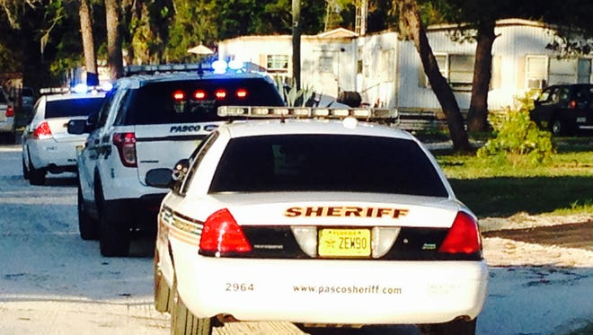 Several people were shot  Wednesday evening in a trailer park, according to the Pasco County Sheriff's Office.