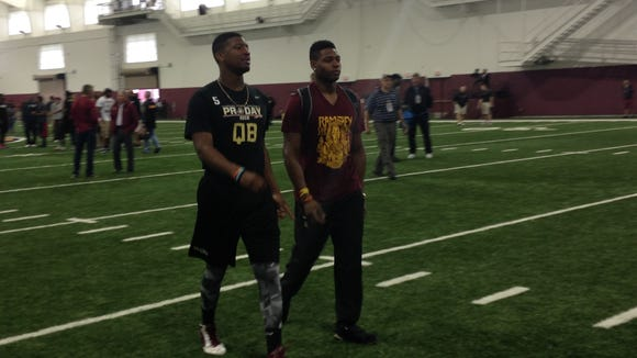 Jameis Winston and Jalen Ramsey.
