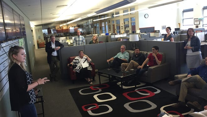 The Coloradoan's morning meetings are at 9 a.m. Monday-Friday and open to the public..