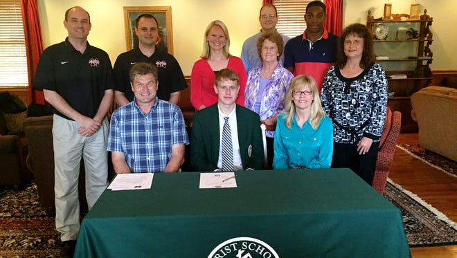 Christ School senior Will Buckner has signed to play college basketball for Milligan (Tenn.).