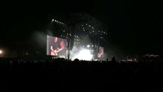 AC/DC performs at Coachella Weekend 2, April 17, 2015.