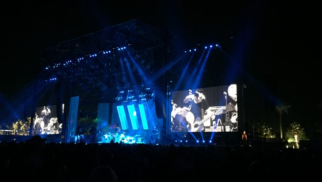 Jack White performs at the Coachella Valley Music and Arts Festival.