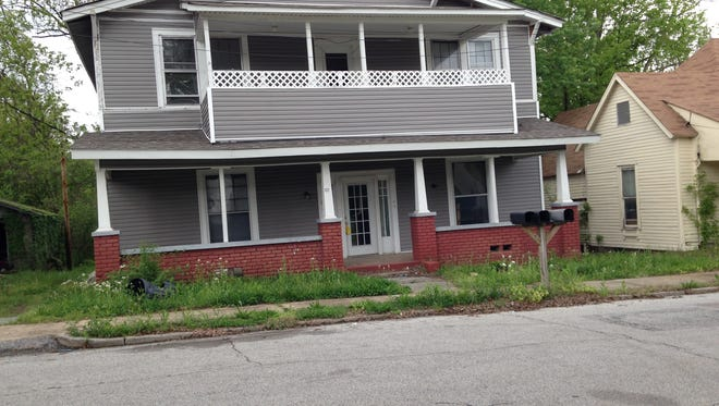 Jackson police arrested three people suspected of breaking into an abandoned house at 137 Prince Edward St.