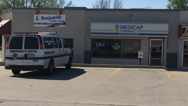 Police searching for suspect in Medicap Pharmacy robbery