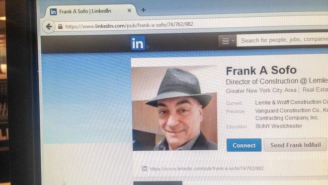 Frank Sofo's LinkedIn page