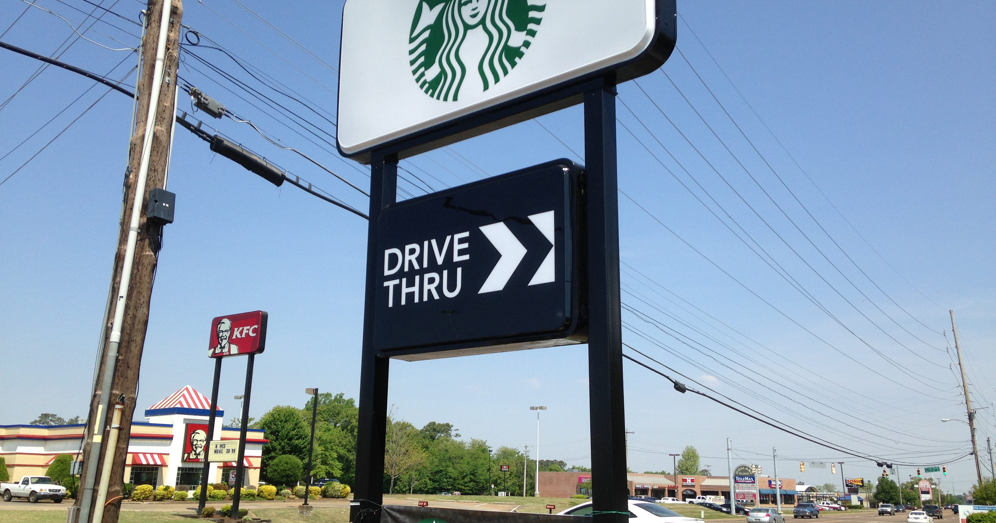 Starbucks With Drive Through Opens At 2034 N Highland Ave