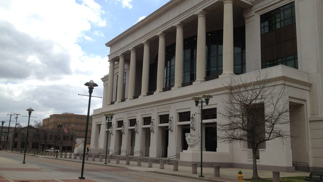 Federal courthouse in Lafayette is the site for the trial of Robert Williamson.