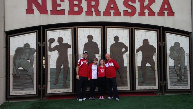 Hendersonville home-schooled student Sarah Hargrove has committed to the Nebraska gymnastics program.