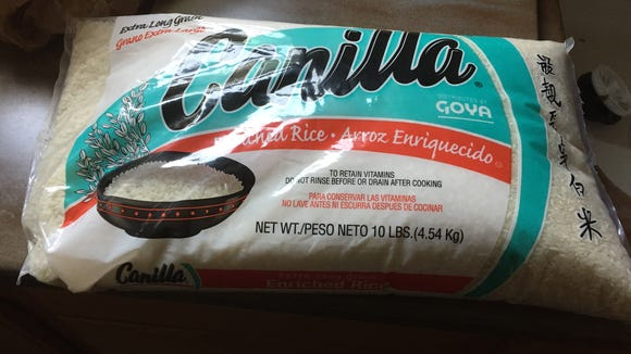 A 10-pound bag of rice illustrates the conundrum of solo shoppers looking to save money.