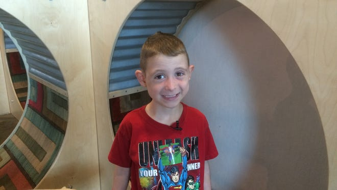 Blake, 6, loves trains and is looking for his forever home.