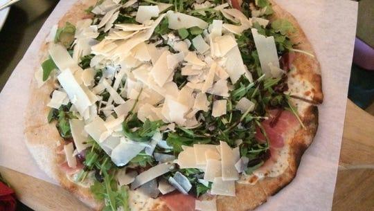 The Musculoso - fresh mozzarella, sliced prosciutto,