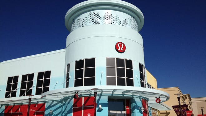 Say hello to Lululemon Athletica's new store at The Summit outdoor shopping center in Reno.