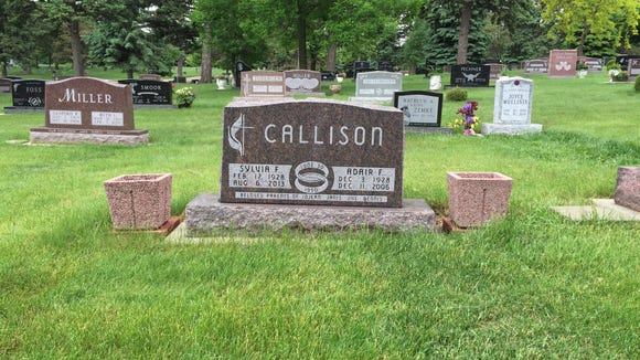 Flowers that marked my parents' graves were stolen on the Memorial Day weekend.