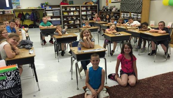 Reporter Megan Williams spoke to four second grade