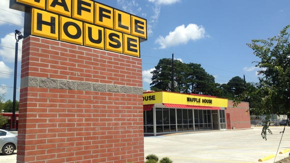 The new location of Waffle House on Pinhook Road is