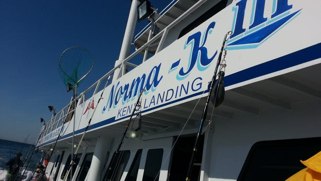 The Norma-K III at Ken's Landing in Point Pleasant Beach.