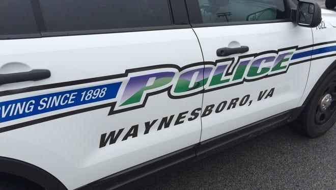 A Waynesboro Police vehicle.