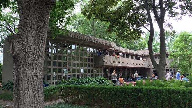 The Frank Lloyd Wright-designed Turkel House is Wright's only project in the city of Detroit.